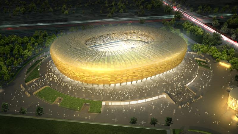PGE Arena stadion w Gdańsku